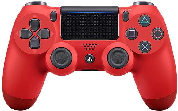 DualShock 4 Wireless Controller for PlayStation 4 (PS4) - Magma Red