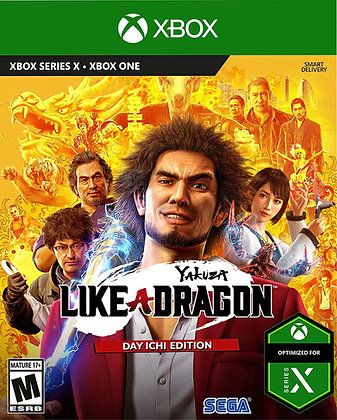 Yakuza: Like a Dragon - Day Ichi Edition (XBX) (XB1) - Xbox Series X Xbox One