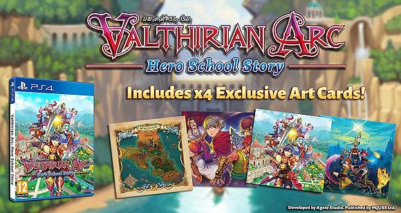 Valthirian Arc: Hero School Story - PlayStation 4