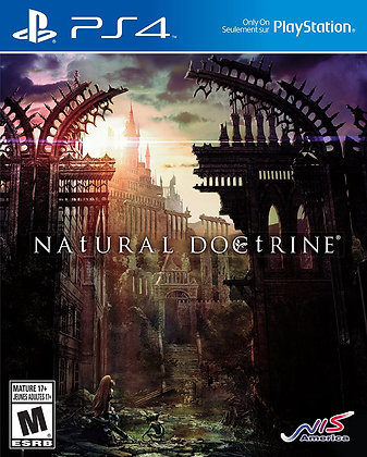 NAtURAL DOCtRINE - PlayStation 4
