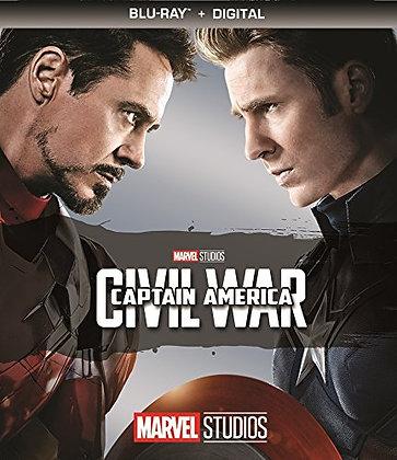 Marvel Captain America  Civil War Bluray+Digital