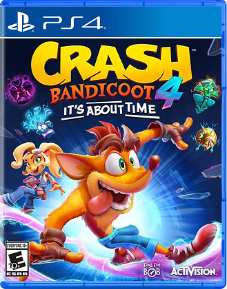 Crash Bandicoot 4: It's About Time (PS4) - PlayStation 4