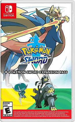 Pokemon Sword + Pokemon Sword Expansion Pass (NSW) - Nintendo Switch
