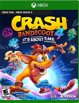 Crash Bandicoot 4: It's About Time (XB1) - Xbox One