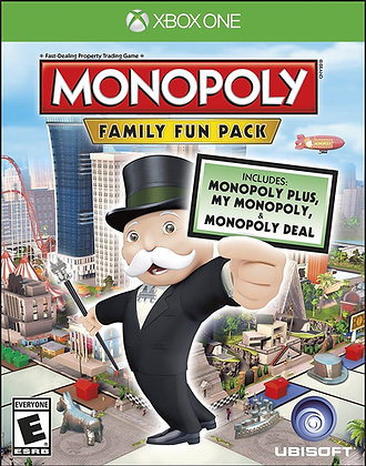Monopoly Family Fun Pack | Xbox One