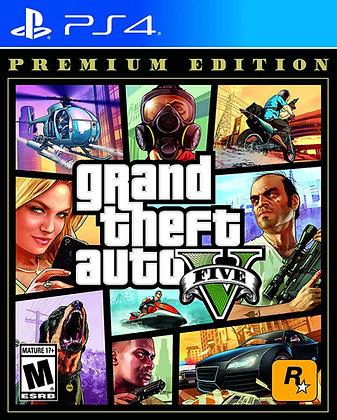 Grand Theft Auto V Premium Edition (PS4) - Playstation 4