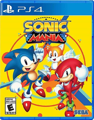 Sonic Mania (PS4) -PlayStation 4