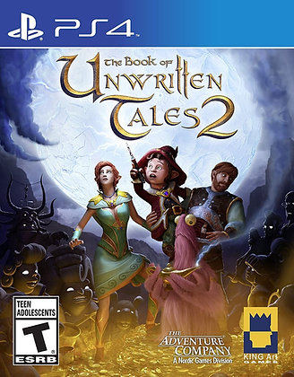 The Book of Unwritten Tales 2 - PlayStation 4