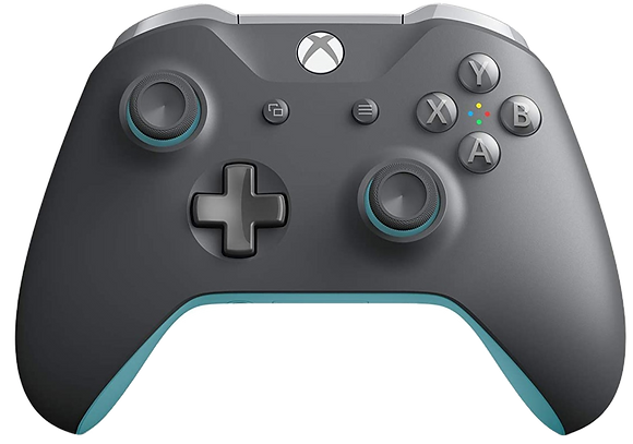 Xbox One Wireless Controller (XB1) - Grey and Blue