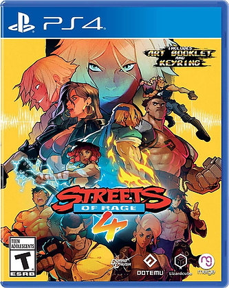 Streets of Rage 4 (PS4) - PlayStation 4