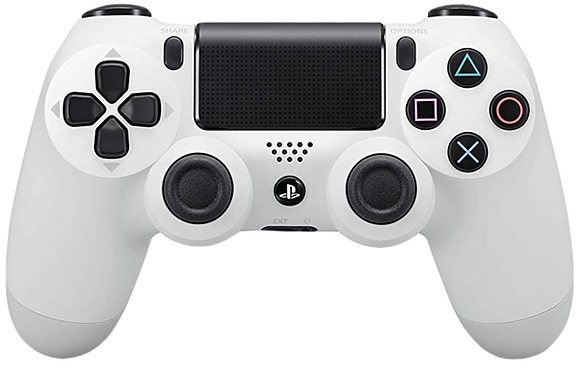 DualShock 4 Wireless Controller for PlayStation 4 (PS4) - Glacier White