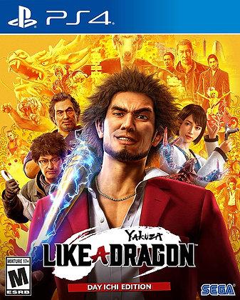 Yakuza: Like a Dragon - Day Ichi Edition (PS4) (PS5) - PlayStation 4