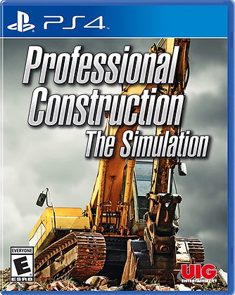 Professional Construction: The Simulation - PlayStation 4