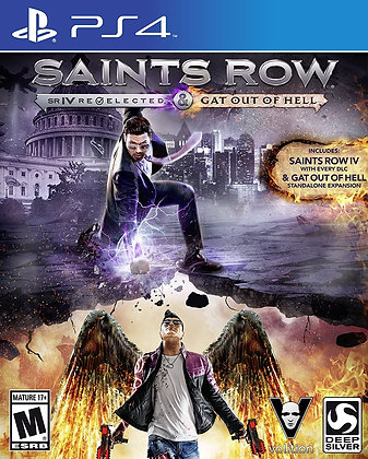 Saints Row IV: Re-Elected + Gat out of Hell - PlayStation 4