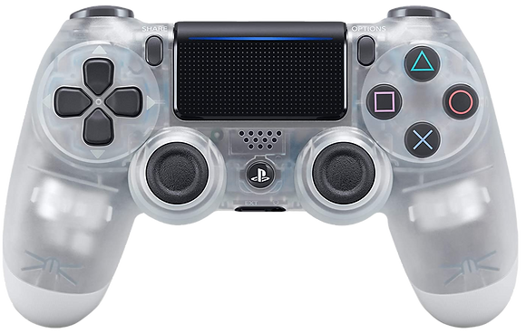 DualShock 4 Wireless Controller for PlayStation 4 (PS4) - Crystal
