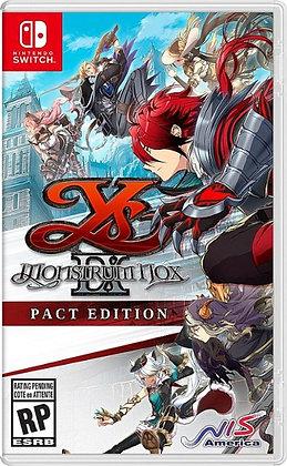 Ys IX: Monstrom NOX Pact Edition (NSW) - Nintendo Switch