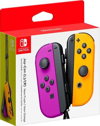 Nintendo Neon Purple/Neon Orange Joy-Con (L-R) - Switch