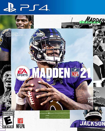 Madden NFL 21 (PS4) - PlayStation 4