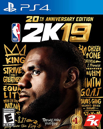 NBA 2K19 20th Anniversary Edition - Hitman 2 - PlayStation 4