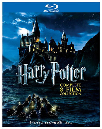 Harry Potter 8-Film Collection Bluray
