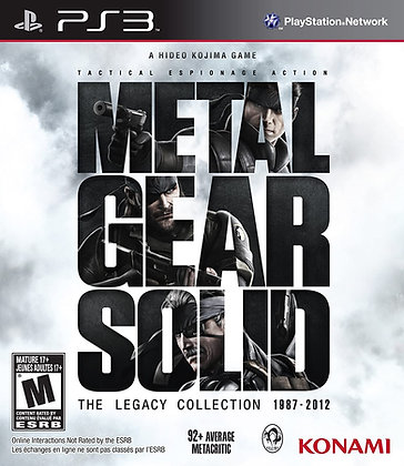 Metal Gear Solid Legacy Collection (PS3) - Playstation 3