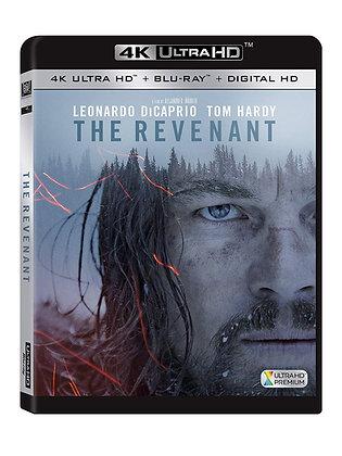 The Revenant 4K + bluray