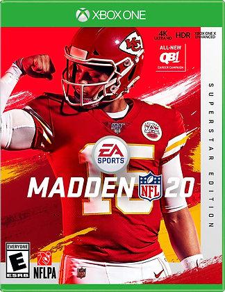 Madden NFL 20 SUPERSTAR XBOX ONE