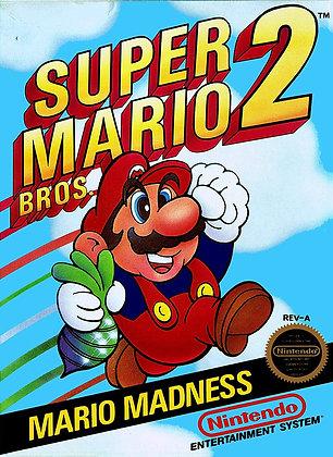 Super Mario Bros. 2 (NES) - Nintendo