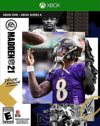 Madden NFL 21 Deluxe Edition (XB1) - Xbox One