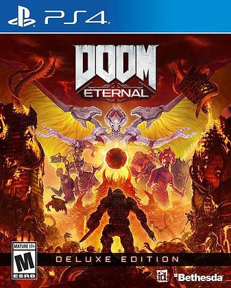 DOOM Eternal: Deluxe Edition (PS4) - Playstation 4