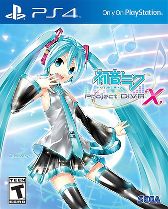 Hatsune Miku: Project DIVA X - PlayStation 4
