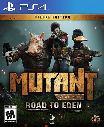 Mutant Year Zero: Road to Eden Deluxe Edition - PlayStation 4