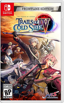 Legend of Heroes: Trails of Cold Steel IV - Frontline Ed. (NSW)- Nintendo Switch