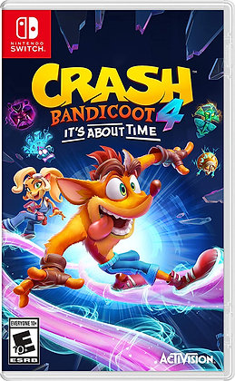 Crash 4: It's About Time (NSW) - Nintendo Switch