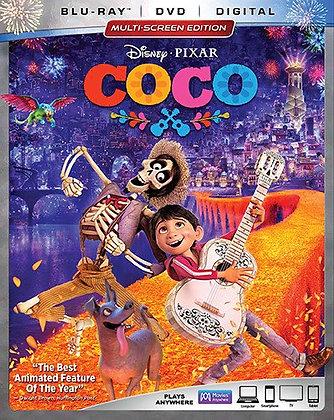 Disney Coco Bluray+digital
