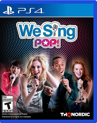 We Sing Pop! - PlayStation 4