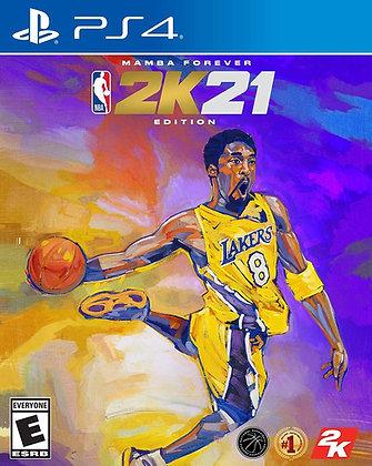 NBA 2K21 Mamba Forever Edition (PS4) - PlayStation 4