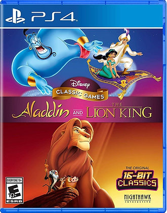 Aladdin and The Lion King - PlayStation 4