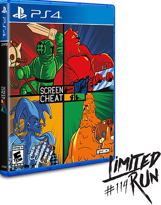 Screen Cheat - PlayStation 4