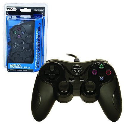 PS2 Wired Controller - Black (TTX)