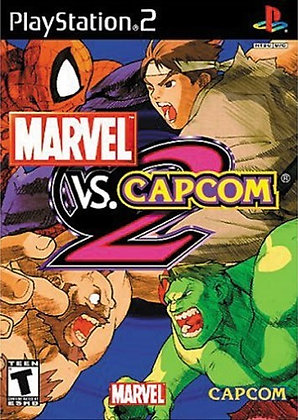Marvel vs. Capcom 2 (PS2) - Playstation 2