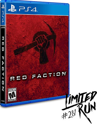Red Faction Limited Run - PlayStation 4