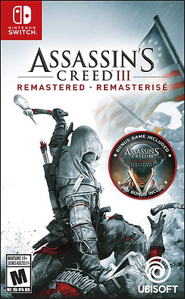 Assassin's Creed III: Remastered (NSW) - Nintendo Switch