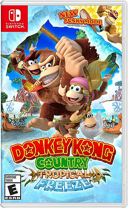Donkey Kong Country: Tropical Freeze (NSW) - Nintendo Switch