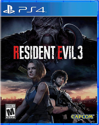Resident Evil 3 (PS4) - PlayStation 4
