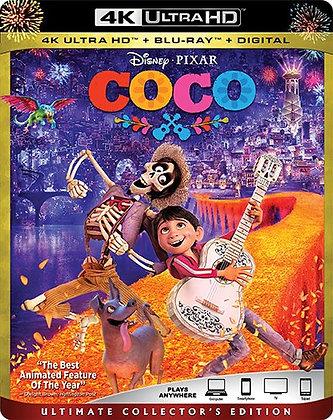 Disney Coco 4K+Bluray+Digital