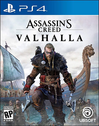 Assassin's Creed Valhalla (PS4) - PlayStation 4 Standard Editio