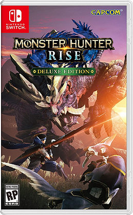 Monster Hunter Rise Deluxe Edition (NSW) - Nintendo Switch