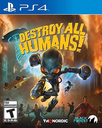 Destroy All Humans! (PS4) - Playstation 4