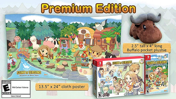 Story of Seasons: Pioneers of Olive Town Premium Edition (NSW) - Nintendo Switch